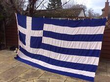 More details for greek national flag ensign naval large 220cm x 350cm used see pics description