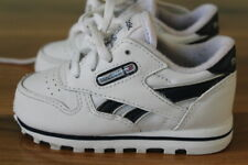 Reebok boys white trainers size UK 4 infant *I'll combine postage*