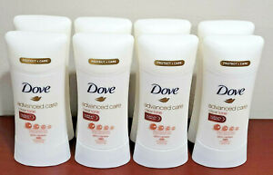 Dove Advanced Care Antiperspirant Deodorant Clear Tone Skin Renew 2.6 Oz - 8 Lot