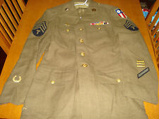 Size 40R Jacket Direct Embroidered Named US CBI Patch & China Decoration!