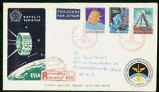 Mayfairstamps Indonesia 1972 Space Set Registered First day cover wwe93855