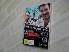 MAGNUM P.I. THE COMPLETE FOURTH SEASON 4 - REGION 4 PAL - 6 DISC DVD SET
