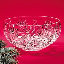 Waterford Crystal Winter Wonderland Large Crystal Centerpiece Bowl (BRAND NEW)