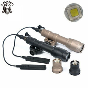 Tactical M600C Scout Light Flashlight LED Hunting Airsoft 400 Lumens Torch Lamp