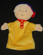 "Caillou  Plush Hand Puppet  Stuffed Plush Doll Toy 10""  Cinar  2001 PBS"