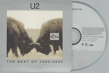 U2 - DVD Promo 4 Titres - Best Of 1990-2000 / Format CD Single