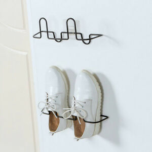 Modern Wall Mounted Shoe Storage Rack Hanging Shelf Shoes Organizer Best Holder