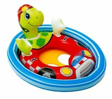 Intex Inflatable See Me Sit Pool Ride for Age 3-4 (Turtle)