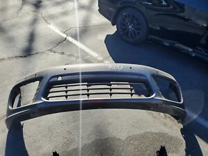 14 15 16 PORSCHE PANAMERA TURBO GTS FRONT BUMPER COVER OEM USED 2014 2015 2016