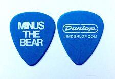 Minus The Bear Guitar Pick. Light Blue Logo Dunlop Guitar Pick.