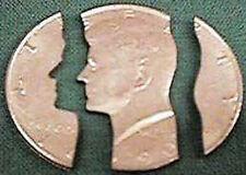 Folding Half Dollar - Profile - Coin Magic Trick