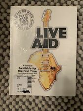 Live Aid 1985 (DVD, 2004, 4-Disc Set) W/ Slip Cover Brand Factory SEALED IN BOX