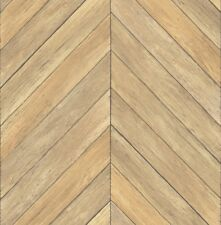 Rasch Textil Restored 024004 Vlies Tapete Holz Optik Fischgrät Muster braun
