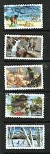 2020 Sc #5475-79 Forever The Great Outdoors 5  stamps Canceled