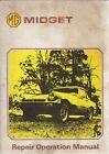 MG MIDGET 1500 ROADSTER (1974-75) ORIGINAL FACTORY WORKSHOP MANUAL