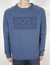 Hugo Boss Orange Wacce Men's Blue Pullover Sweatshirt Sweater XL