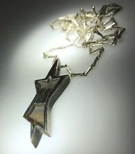 """Kim Craftsman Sterling Silver  Star of David Pendant With 18""""chain"""