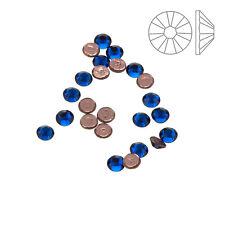 Swarovski Hotfix 2038 Crystals (SS10) Capri Blue Pack of 24 (K61/11)