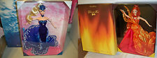 The Essence of Nature Collection Water Rhapsody Barbie & Dancing Fire Dolls NRFB
