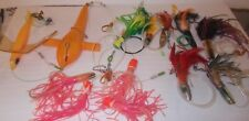 Lot of Big Game Trolling Fishing Lures Boone Bird Patco Saltwater Offshore Sea