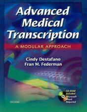 Advanced Medical Transcription with CD-ROM: A Modular Approach, 1e-ExLibrary