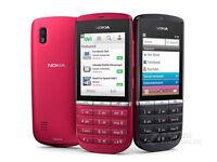 100% Orginal Nokia Asha 300 Red 5MP FM HSDPA (GSM) Unlocked Mobile Phone