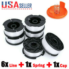TUU String Trimmer Replacement Spool Line Compatible with Decker String Trimmer Cordless Trimmer Black Spool Line 6