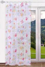 Schlaufenschal Birds bedruckt / Kinderzimmergardine 140x245cm
