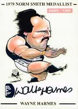 HARV TIME NORM SMITH MEDALLIST HAND SIGNED WAYNE HARMES CARD LTD TO 79
