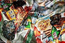 "100% Silk Scarf/175x50cm-Silk-Art""SPECIAL*FREE Post WORLDWIDECountryLife'brtf5BR"