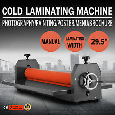 "29.5"" 750MM LAMINATRICE A FREDDO COLD LAMINATOR MANUALE ROLLER LAMINATING GREAT"
