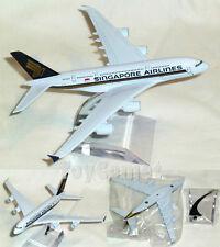 Singapore Airlines A380 Airbus Airplane 16cm DieCast Plane Model