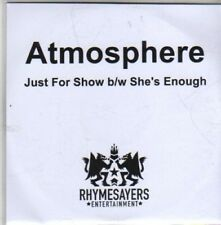 (CB679) Atmosphere, Just For Show - 2011 DJ CD