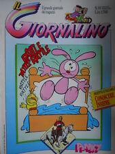 Giornalino 17 1988 Piccolo Dente di L. Landolfi - Inserto Sergio Toppi [C21]
