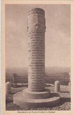 A071) WW1, MONUMENTO AI CADUTI GIULIANI E DALMATI SU CIMA 3 DI MONTE SAN MICHELE