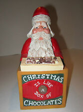 Paul Bolinger Santa-Christmas Is Like A Box of Chocolates -Never know what U Get