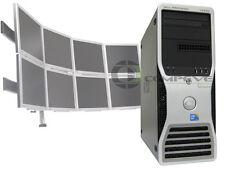 Dell Precision T3500 QC Xeon CPU E5520 2.26Ghz 8GB 8 Multi-Monitor Computer PC