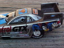 John Force Raw Bare Metal Superman Action Racing 1999 Nitro Drag Funny Car 1/64
