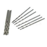 10pcs 1.5mm Micro Drill Bit HSS Straight Shank Electrical Tool Twist Drilling