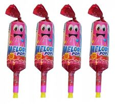 12 x Chupa Chups Melody Pops Lollipops Pop Whistle Party Favors Bulk Sweets