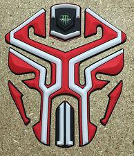 Nuevo Tanque de Motocicleta De Goma Moto 3D Pad Protector KAWASAKI HONDA DUCATI