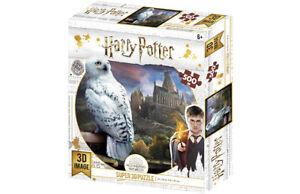 Wizarding World Harry Potter Prime 3D HEDWIG 3D Image Puzzle 500 Pieces  6+