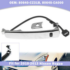 Outside Door Handle Smart Entry Front Left Chrome For Nissan Rogue 2010-2013