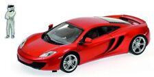 """Minichamps 519101330 McLaren MP4-12C """"TopGear"""" in orange mit Figur 1:18 NEU OVP"""