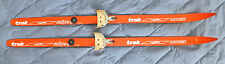 Trak Nowax Rallye-jr. skis - Made in austria - Nordic Norm Small 71mm