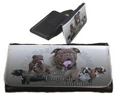 Frauen Geldbörse Brieftasche Old English Bulldog Olde Englische Bulldogge OEB