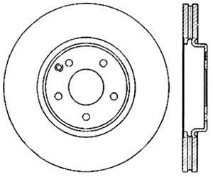 StopTech Front Left Disc Brake Rotor for 02-09 Mercedes-Benz E350 E500 S430 S500