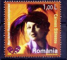 Romania 2006 MNH, Carmen Stanescu,theater and film actress, Celebrities