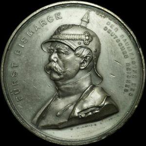 OTTO VON BISMARCK: Große Medaille, Dürrich. BAUMEISTER DES DEUTSCHEN REICHES.