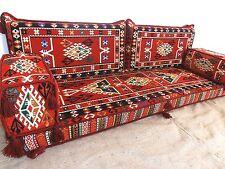 floor seating,arabic cushions,floor cushions,kilim sofa set,arabic couch - MA 46